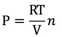 状態方程式から飽和蒸気圧