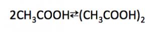 酢酸の二量体
