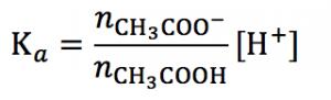 緩衝液 受験テクニック 水素イオン濃度