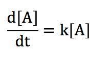 反応速度 微分方程式