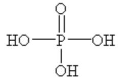 リン酸 構造式