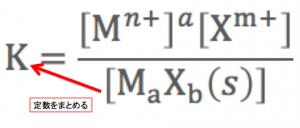 化学平衡定数