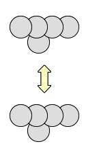 ファンデルワールス力 表面積