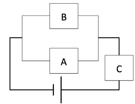 電気分解の並列回路