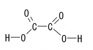 シュウ酸 構造式