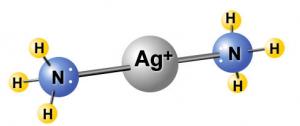 ジアンミン銀(I)イオン