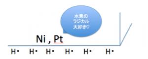 水素付加 触媒