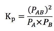 圧平衡定数