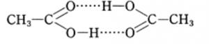 酢酸の会合