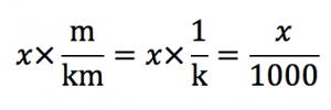 換算の式 水銀柱