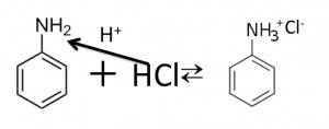 アニリニウムイオン
