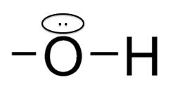 ヒドロキシ基 非共有電子対