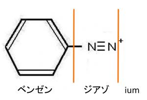 ベンゼンジアゾニウムイオン