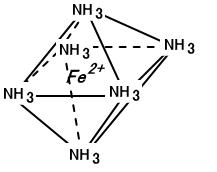 ヘキサアンミン鉄(II)イオン