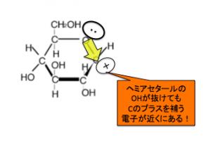 グリコシド結合,ヘミアセタール
