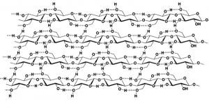 セルロース,結晶構造