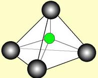 炭素の正四面体構造