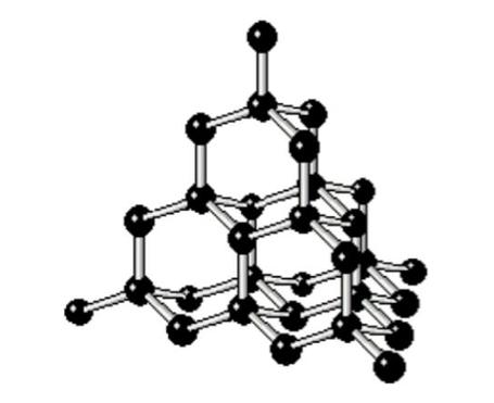ダイヤモンド型構造