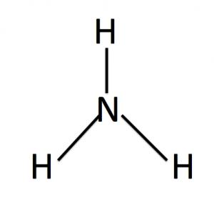 アンモニアの構造