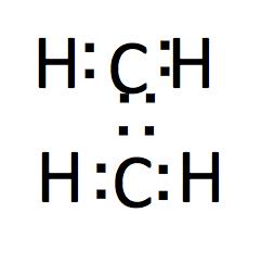 エチレンの電子式