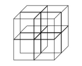 単位格子8分割