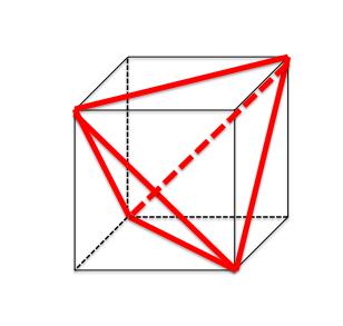 正四面体構造