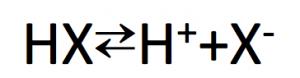 ハロゲン化水素の電離