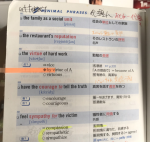 システム英単語の覚え方